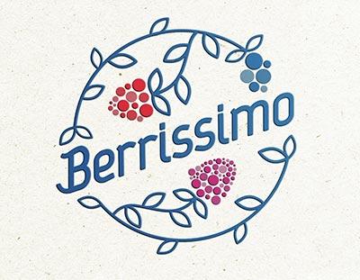 Лого дизайн за Berrissimo | Креа Графикс